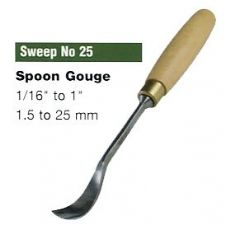Spoon Gouges (Sweep No.25)